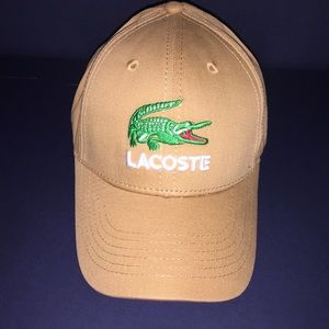 Lacoste Men's Embroidered Adjustable Hat Cap
